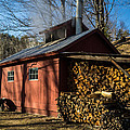 Classic Vermont Maple Sugar Shack by Edward Fielding