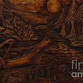 Clatsop Coyote God Italapas by Carlo Olkeriil
