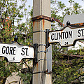 Clinton And Gore by Andrew Fare