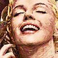 Close Up Beautifully Happy by Atiketta Sangasaeng