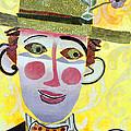 Clowning Around Print by Diane Fine