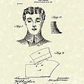 Coat Collar 1904 Patent Art by Prior Art Design