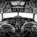 cockpit of a DC3 Dakota Print by Paul Fell