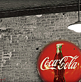 Coke Cola Sign by Paulette B Wright
