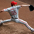 Cole Hamels - Pregame Warmup by Stephen Stookey