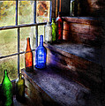 Collector - Bottle - A Collection Of Bottles by Mike Savad