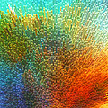 Color Infinity - Abstract Art By Sharon Cummings Print by Sharon Cummings