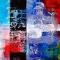 Color Scrap Print by Nancy Merkle