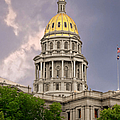 Colorado State Capitol Building Denver Co by Christine Till