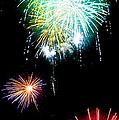 Colorful Explosions No3 by Weston Westmoreland