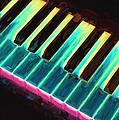 Colorful Keys by Bob Orsillo