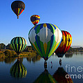 Colorful Landings by Mike  Dawson
