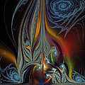 Colors In Motion-fractal Art by Karin Kuhlmann