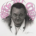 Coluche by Guillaume Bruno
