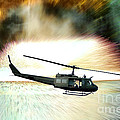 Combat Helicopter by Olivier Le Queinec