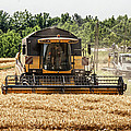 Combine Harvester by Georgia Fowler