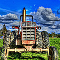 Coming Out Of A Heavy Action Tractor by Eti Reid