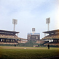 Comiskey Park Photo From The Outfield by Retro Images Archive