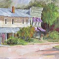 Commerce Street Apalach by Susan Richardson