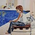 Community Pool by Debra Chmelina