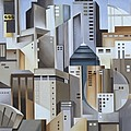 Composition Looking East by Catherine Abel