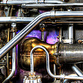 Concord Engine HDR Print by SteveHPhotos
