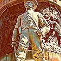 Confederate Soldier Statue I Alabama State Capitol by Lesa Fine