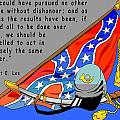 Confederate States Of America Robert E Lee by Digital Creation