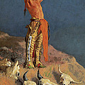 Conjuring Back The Buffalo by Frederick Remington