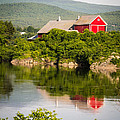 Connecticut River Farm by Edward Fielding