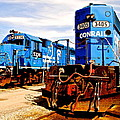 Conrail Choo Choo  by Frozen in Time Fine Art Photography