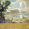 Conway Castle by Sir David Murray