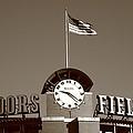Coors Field - Colorado Rockies 16 by Frank Romeo