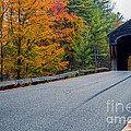 Corbin Covered Bridge Vermont Print by Edward Fielding