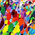 Cornucopia Of Colour I Print by John  Nolan