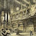 Coronation Evening London 1937 by Jack Coburn Witherop