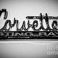 Corvette Sting Ray Emblem by Paul Velgos
