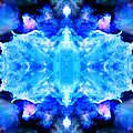 Cosmic Kaleidoscope 1 Print by The  Vault - Jennifer Rondinelli Reilly