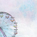 Cotton Candy Ferris Wheel by Kay Pickens