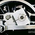 Coupling Rod And Driver Wheels For A Steam Locomotive by Wernher Krutein