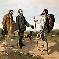 Courbetgustave 1819-1877. The Meetingor by Everett