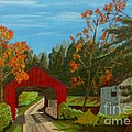Covered Bridge by Anthony Dunphy