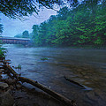 Covered Bridge  by Everet Regal