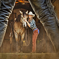 Cowgirl And Cowboy by Susan Candelario