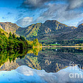 Craf Nant Lake by Adrian Evans