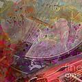Creative Sounds Digital Banjo And Guitar Art By Steven Langston by Steven Lebron Langston