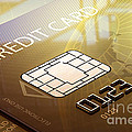 Credit Card Macro - 3d Graphic by Johan Swanepoel
