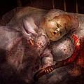 Creepy - Doll - Night Terrors Print by Mike Savad