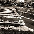 Crosswalk In New York City by Dan Sproul