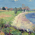 Curving Beach by William James Glackens